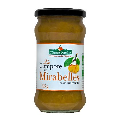 Compote Mirabelles 315g