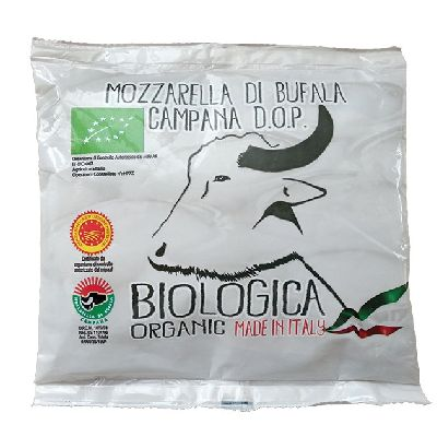 Mozzarella Bufflonne 125g Biologica