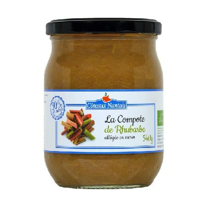 Compote Rhubarbe Allegee 540 G
