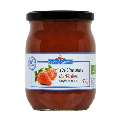 Compote Fraise Allegee 540 G