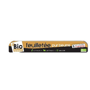 Pate Feuilletee Pur Beurre 250g Biobleud