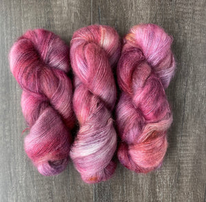 Red Sky At Night (Galactic Halo Mohair)