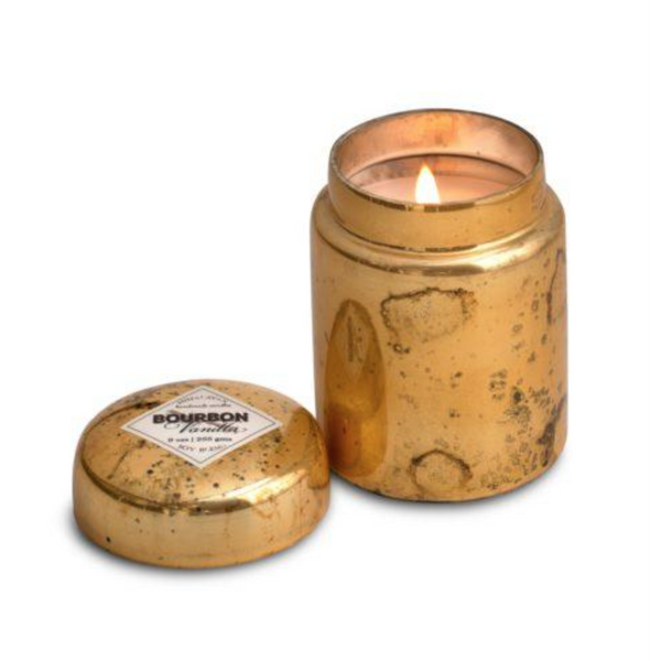 Gold Mountain Fire Pot Candle