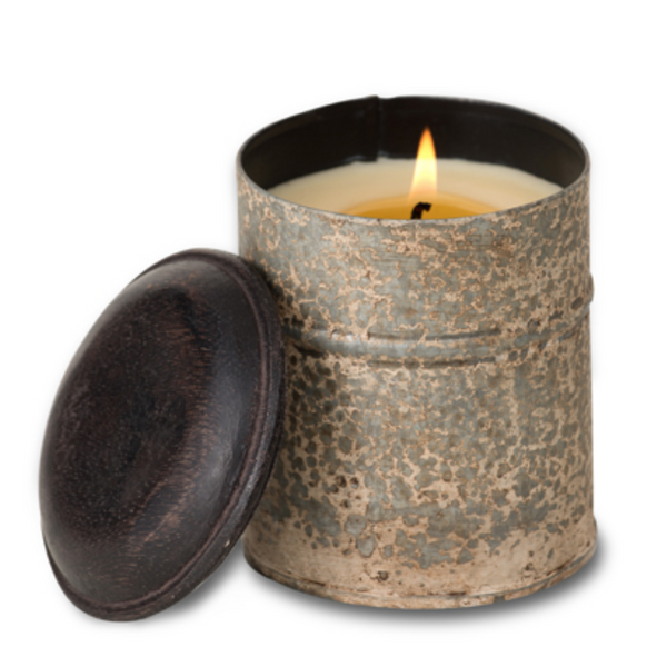 White Spice Tin Candle