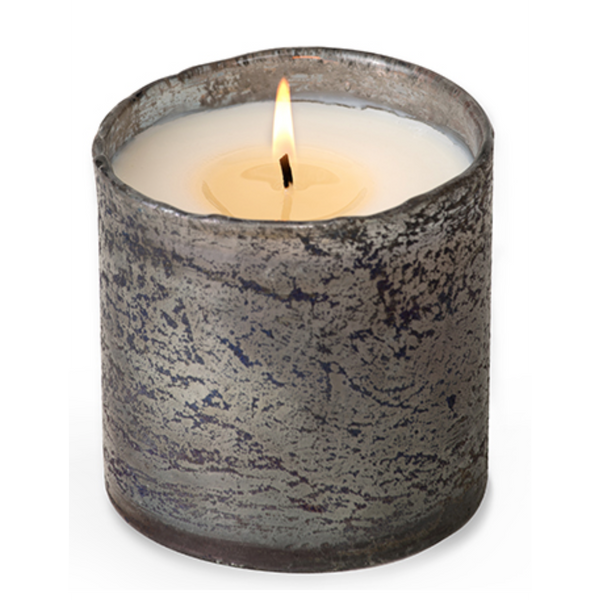 Artisan Blown Smoky Grey Tumbler Candle