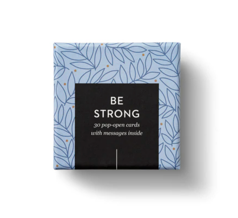 Be Strong Pop-Open Cards