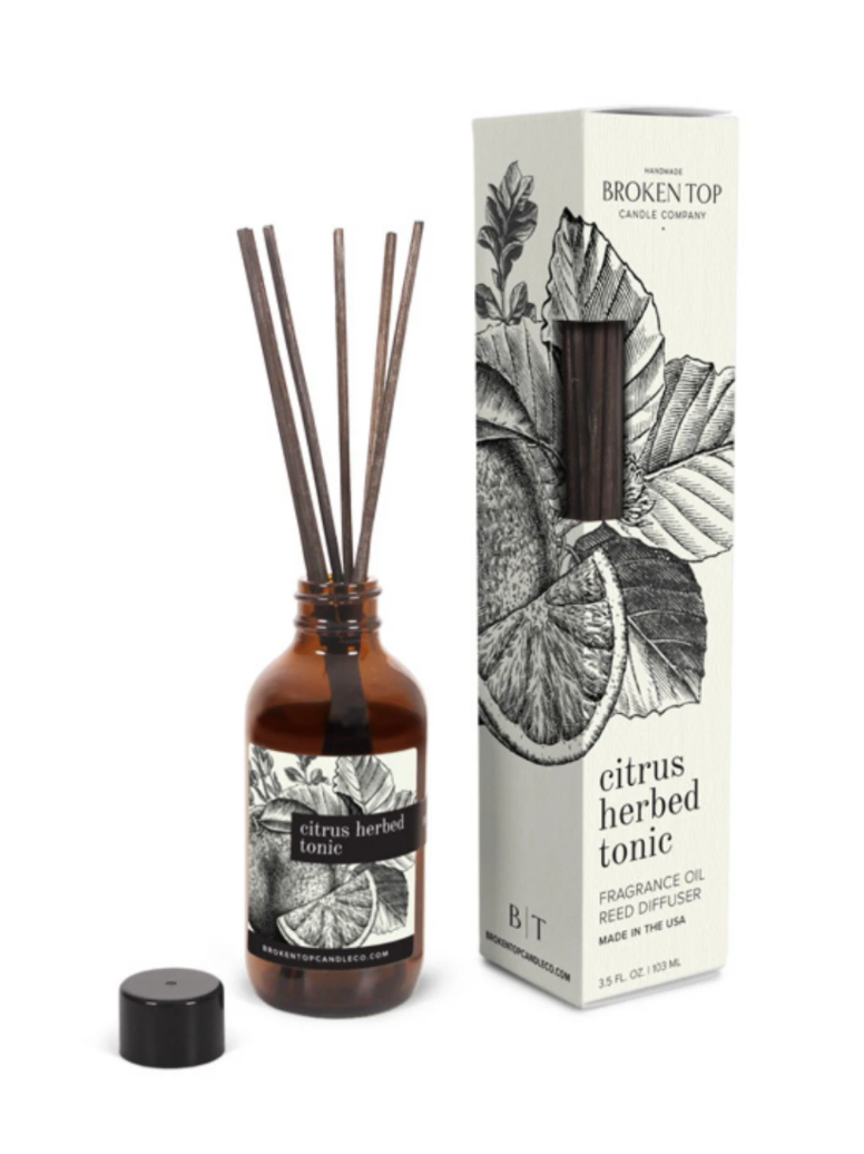 Citrus Herbed Tonic Reed Diffuser