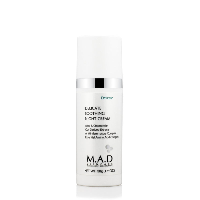 Delicate Soothing Night Cream-M.A.D Skincare-Sol y Luna Salon