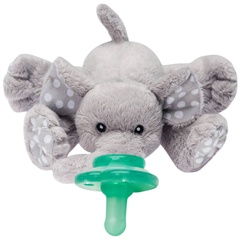 Ella Elephant Paci-Plushies Pacifier Holder-Nookums-default-Sol y Luna Salon
