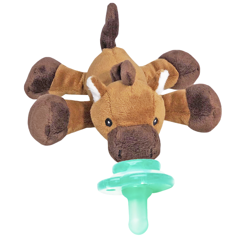 Henri Horse Paci-Plushies Pacifier Holder-Nookums-Sol y Luna Salon