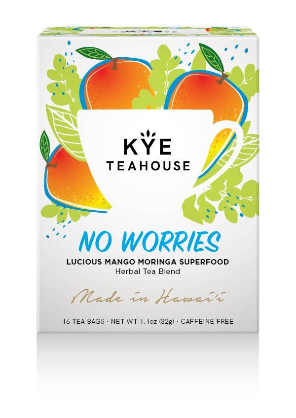 No Worries - Mango Moringa Herbal Tea