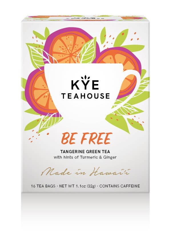 Be Free - Tangerine Green Tea