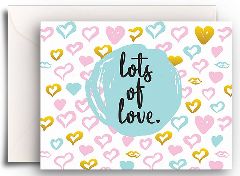 Lots of Love Gift Enclosure Card