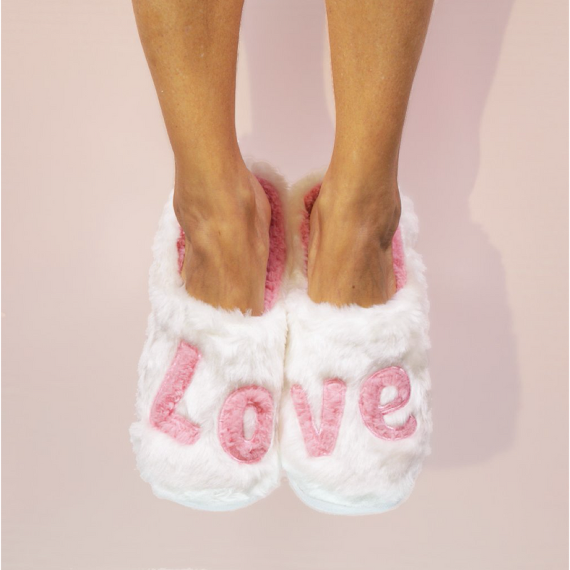LOVE Classic Slippers-Faceplant Dreams-Sol y Luna Salon