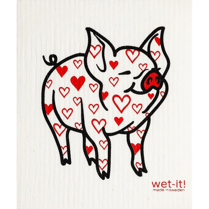 Lovely Pig Swedish Cloth-Wet-it!-Sol y Luna Salon