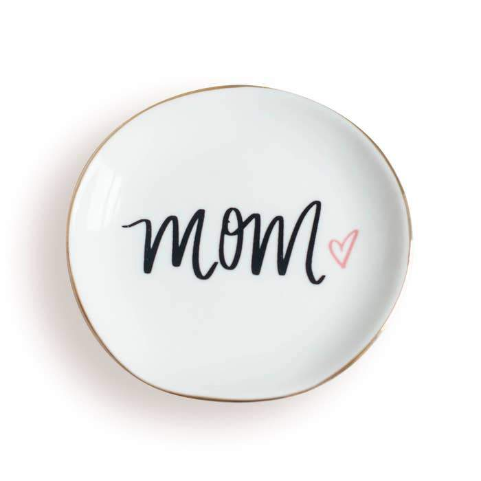 Mom Ceramic Jewelry Dish-Sweet Water Decor-Sol y Luna Salon