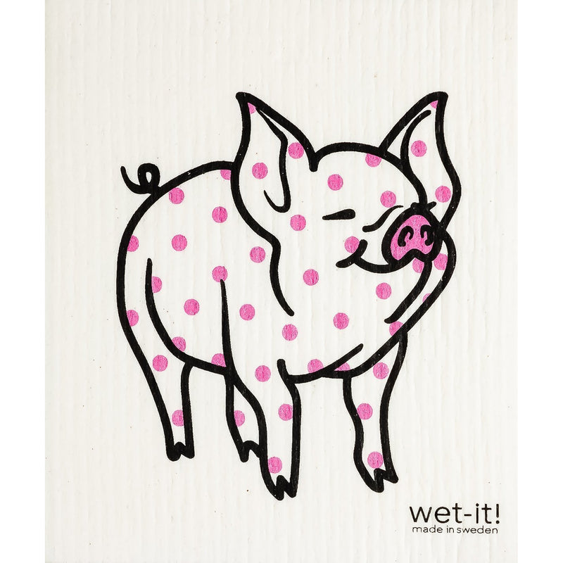 Polka Pig Swedish Cloth-Wet-it!-Sol y Luna Salon