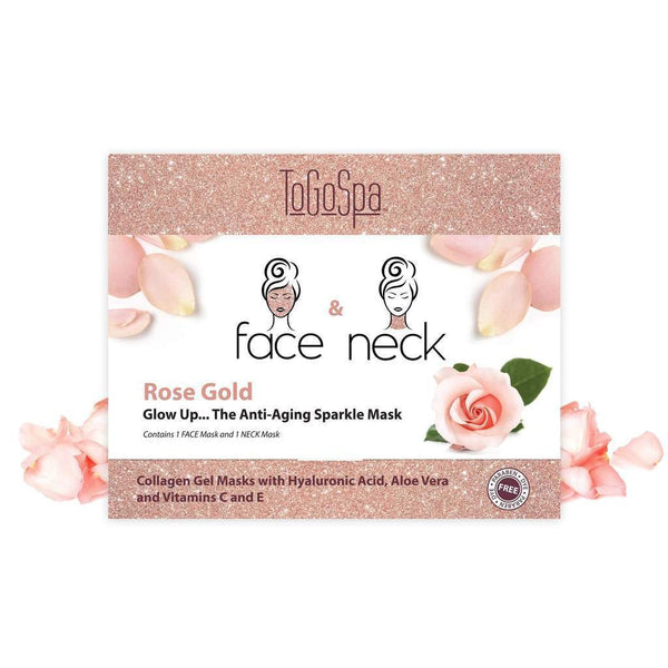 Rose Gold Face & Neck Combo Pack-ToGoSpa-Sol y Luna Salon