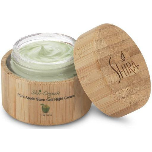 Shir-Organic Pure Apple Stem Cell Night Cream-Shira-Sol y Luna Salon