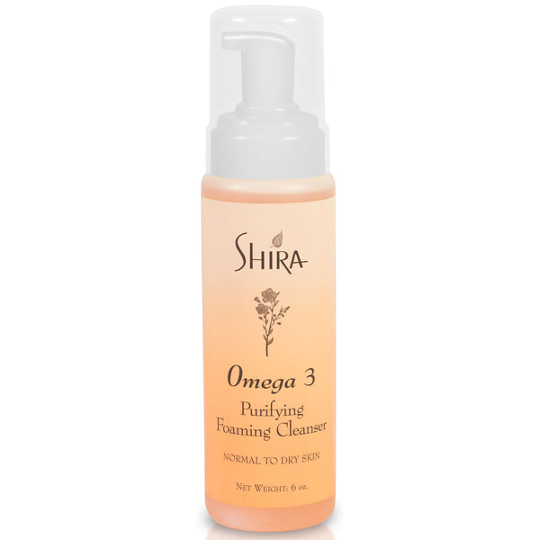 Shira Omega 3 Purifying Foaming Cleanser-Shira-Sol y Luna Salon
