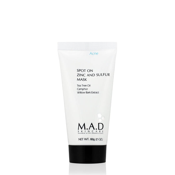 Spot On Zinc And Sulfur Mask-M.A.D Skincare-Sol y Luna Salon
