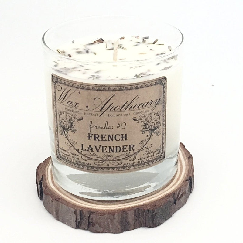Wood Slice Candle Coaster-Wax Apothecary-default-Sol y Luna Salon