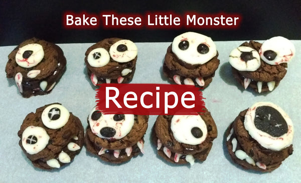 Little Monster Halloween Cookies