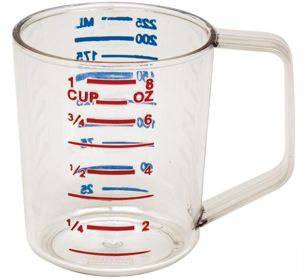 Rubbermaid Bouncer Measuring Jug/Cup, Clear