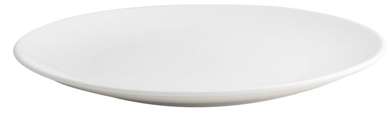 Royal White New Bone Coupe Plate 30.5 cm