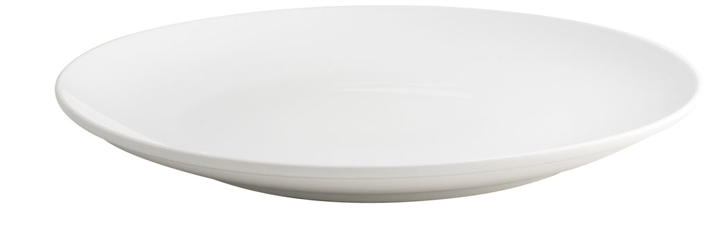 Royal White New Bone Coupe Plate 36 cm