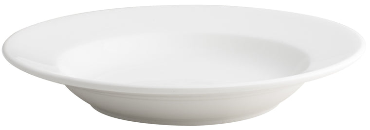 Royal White New Bone Round Deep Plate 30 cm