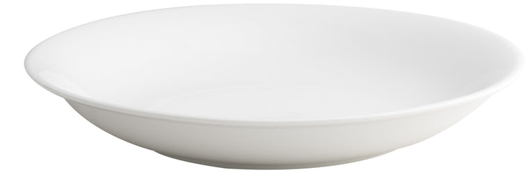 Royal White New Bone Round Deep Plate 31 cm