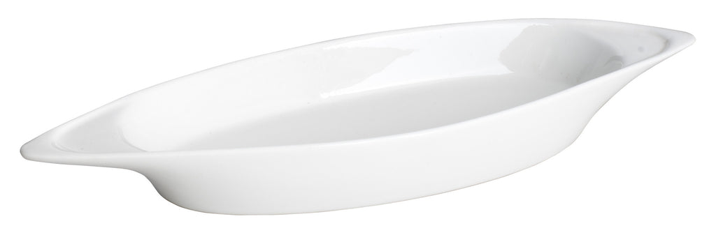 Royal White New Bone Vegetable Dish 19.8x11x3.5 cm