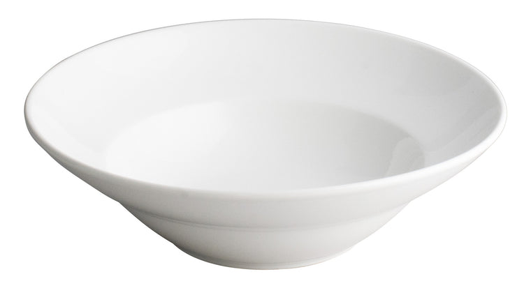 Royal White New Bone Round Deep Plate 23.5 cm