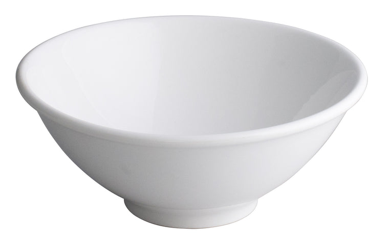Royal White New Bone Japanese Noodle Bowl 20.5 cm