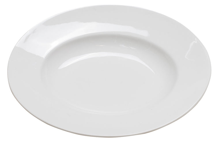 Royal White New Bone Oval Deep Platter 28 cm