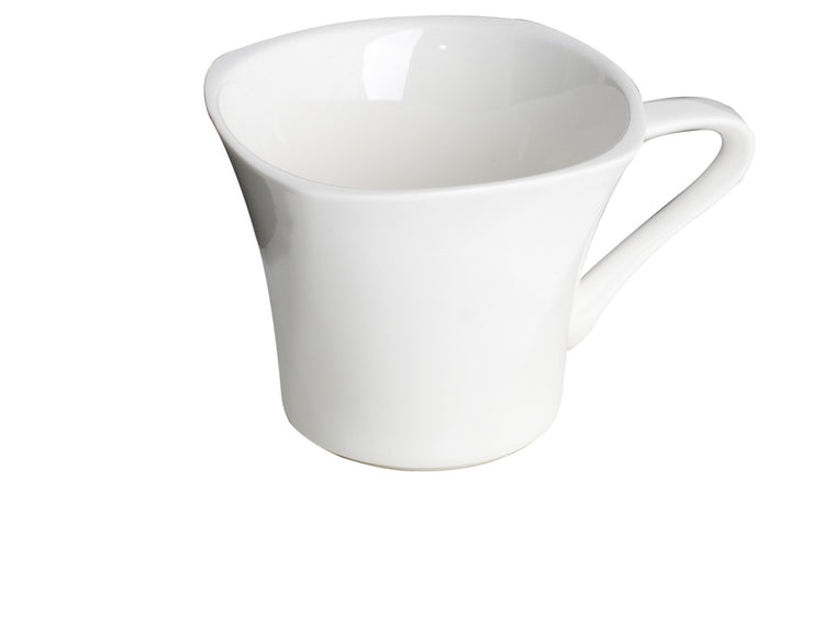 Royal White New Bone Arch Shape Tea / Coffee Cup 180 cc, 8.5 cm