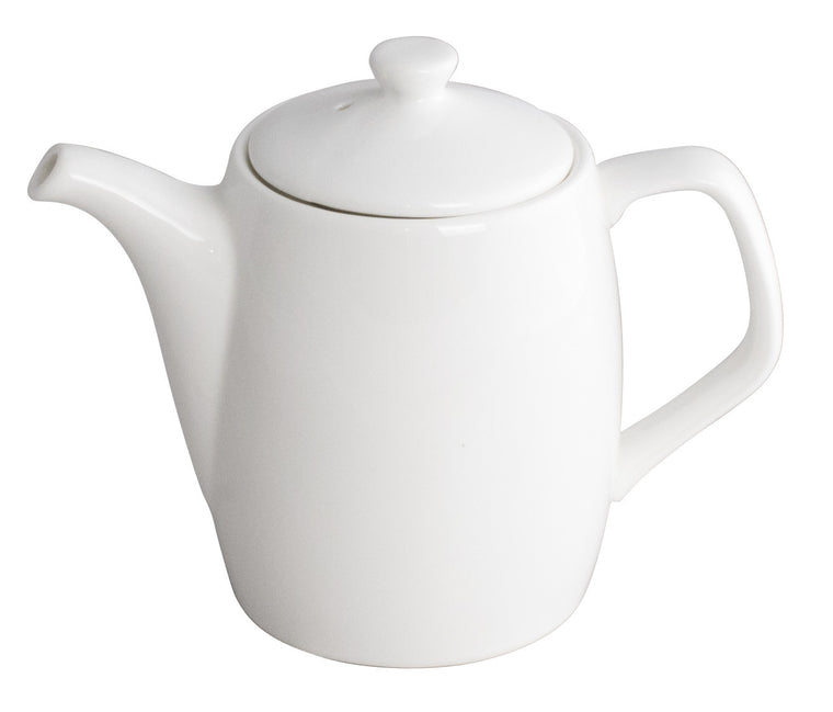 Royal White New Bone Coffee Pot with Lid 650 cc