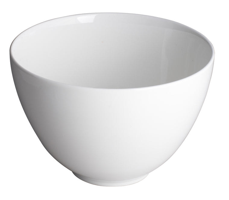 Royal White New Bone Deep Bowl 17.5x11.25 cm