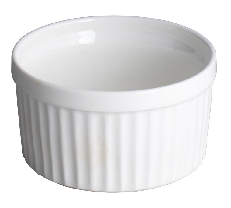 Royal White New Bone Ramekin Bowl 10 cm