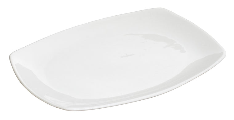 Royal White New Bone Rectangular Plate 32x22 cm
