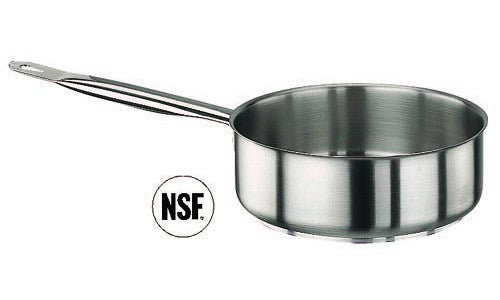 Paderno Stainless Steel Saute Pan D16xH6.5 cm 1.3L