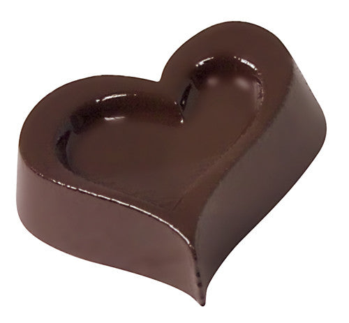 "Paderno Polycarbonate ""Heart"" Chocolate Mould, 15@S"