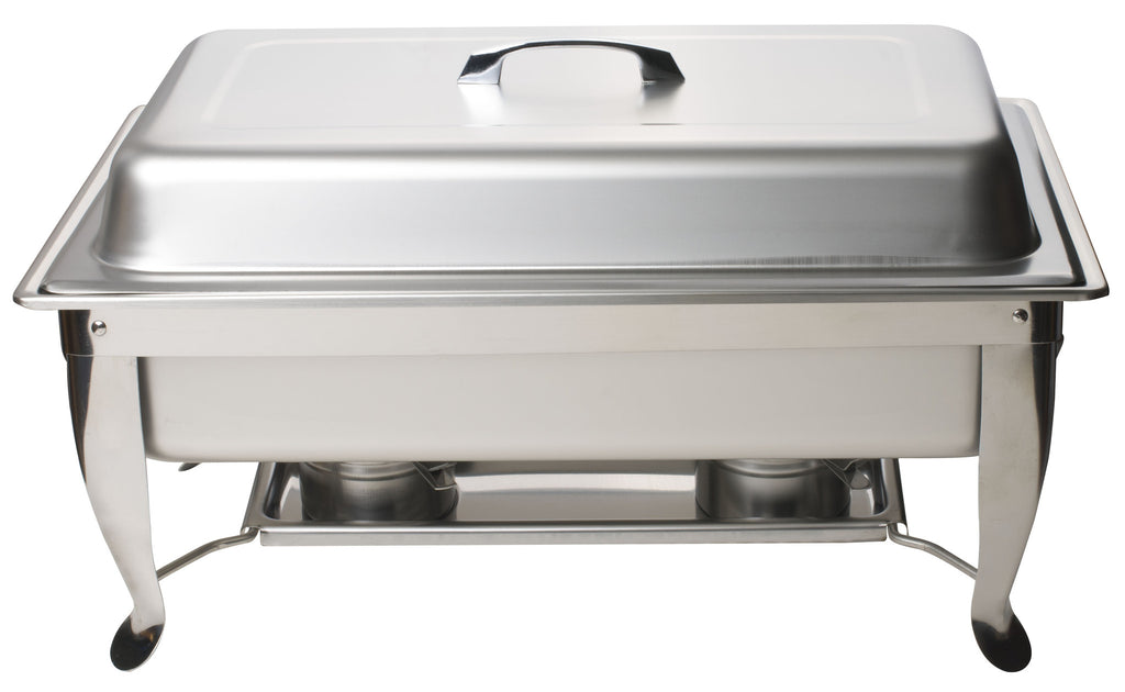 Stainless Steel Full Size Chafing Dish with Folding Stand