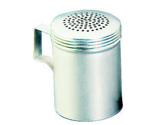 King Metal Stainless Steel Dredger (Universal Holes) 10 oz With Handle