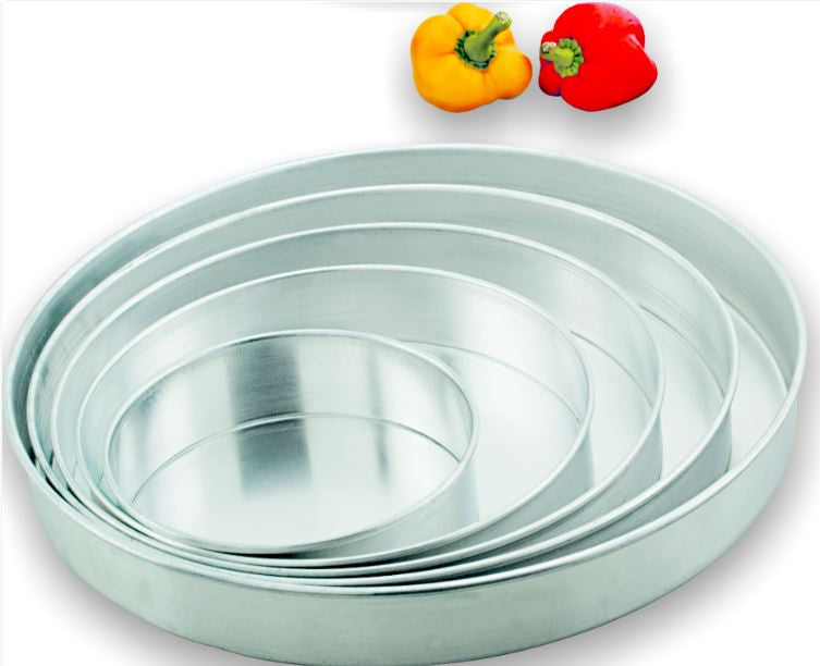 King Metal Alum Pie Pan