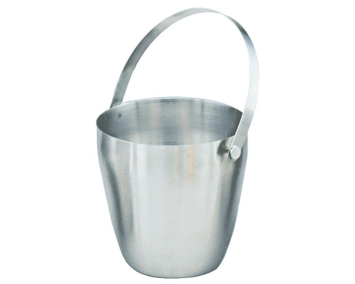 King Metal Stainless Steel Ice Bucket 1.8 Ltr With Strip Handle