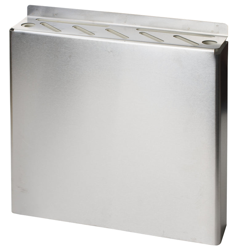 Alegacy Stainless Steel Knife Holder/Rack 12x12-7/8x2½""