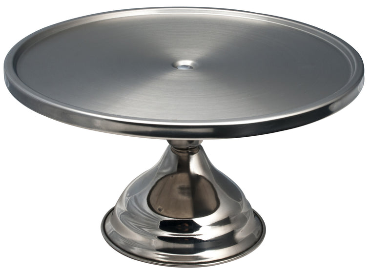 Alegacy Stainless Steel Cake & Pastry Display Stand, 13""