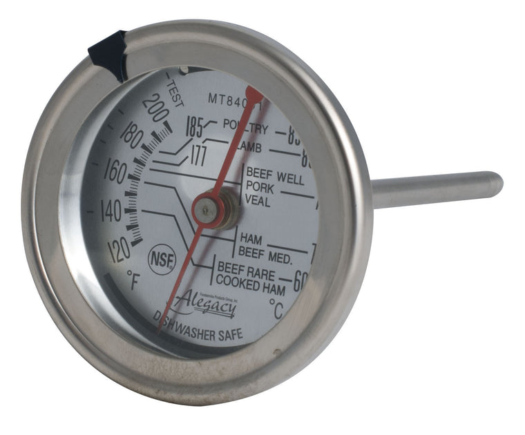 "Alegacy Meat Thermometer Dia 2¾""x5"" 120-220°F 60-85°C"